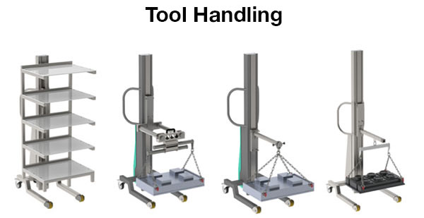 Torros Multi Lift Tool Handling and Tool Lifting